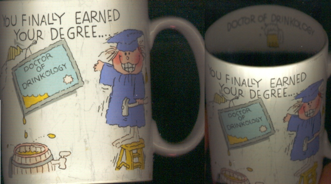 degree mug, status:everyday use, one of the few mugs with printing on the inside