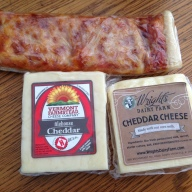 from the diary farm cheeses and pizza strip
